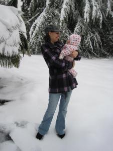 Sonja's 1st Snowpocalypse
