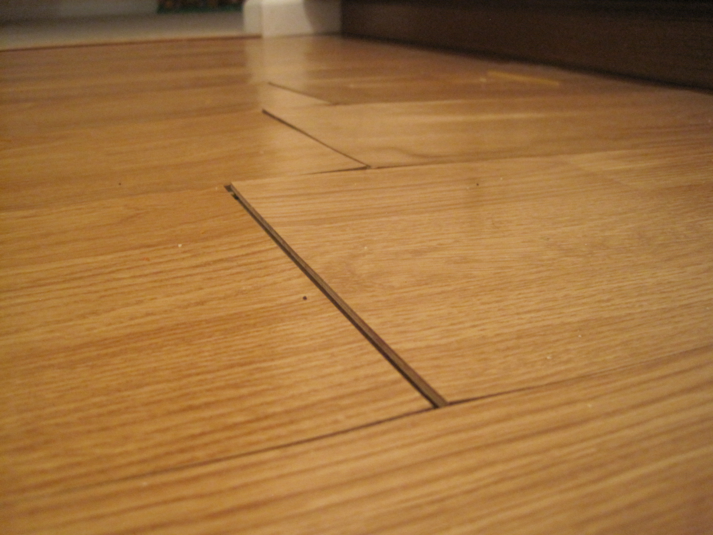Hardwood Floor Kitchen Water Damage