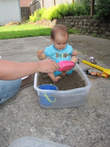 Fun in the new sandbox.