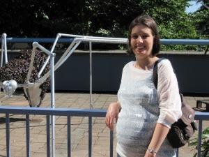 Pregnant Vacationer