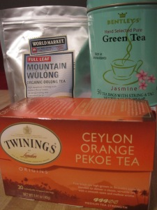 These are a few of my favorite teas