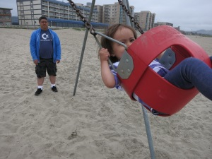 I'm swinging!