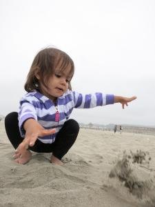 Throwin' Sand