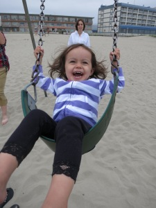 I'm swinging again!