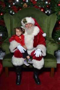Sonja and Santa