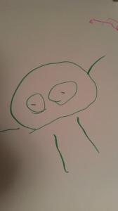 Self-Portrait, Age 3