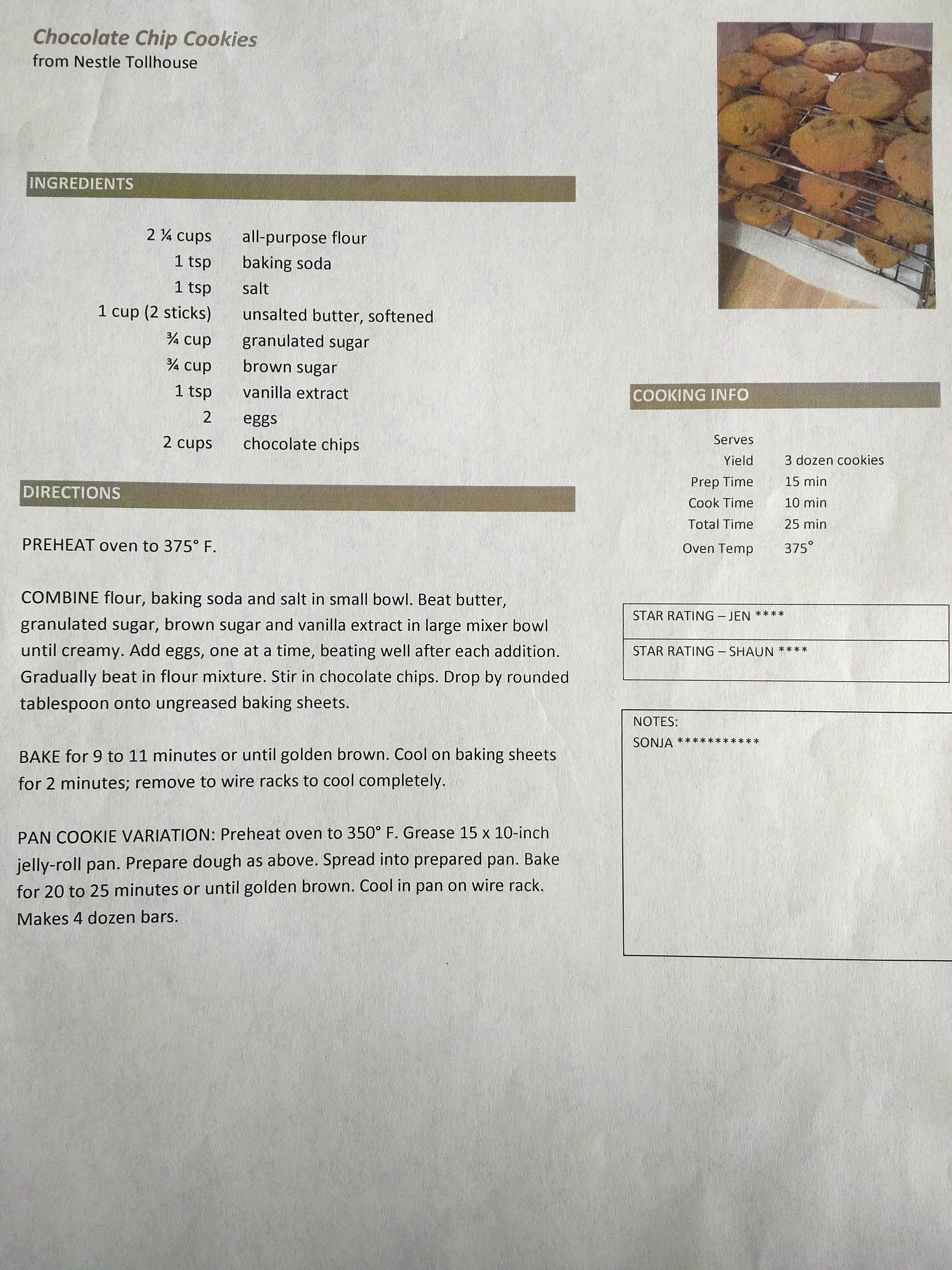 Lovely Template Recipe Photos - Professional Resume Example Ideas ...